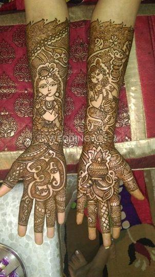 Ankita's Mehndi Creation