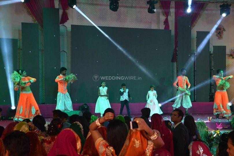 Wedding decor & dance