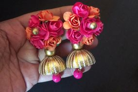 Real Flower Jewellery and Artificial Flower Jewellery For Mehndi and Haldi