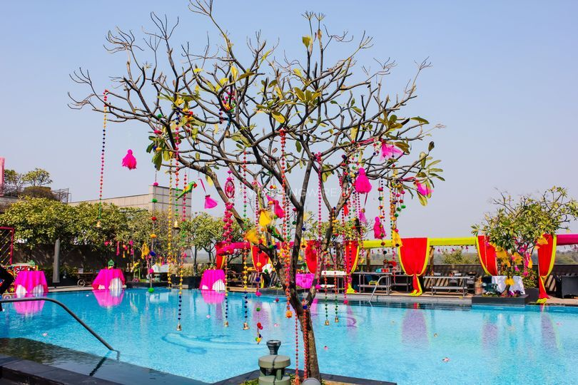Event space by the pool