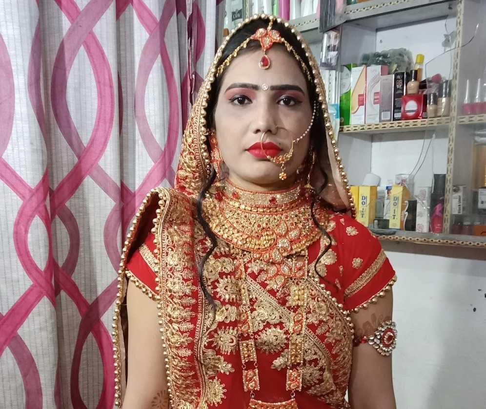 Bridal Makeup From Kajal Beauty Parlor Photos