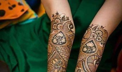 Aakash Nayak Mehandi Art