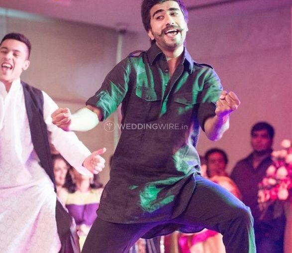 Sahil's dance art