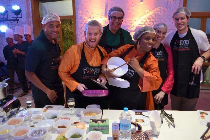 Happy and Creative Chefs