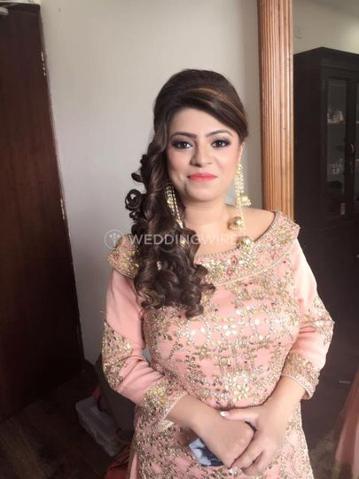 Party Makeup From Tanu Singh Professional Makeup Artist Photo 10