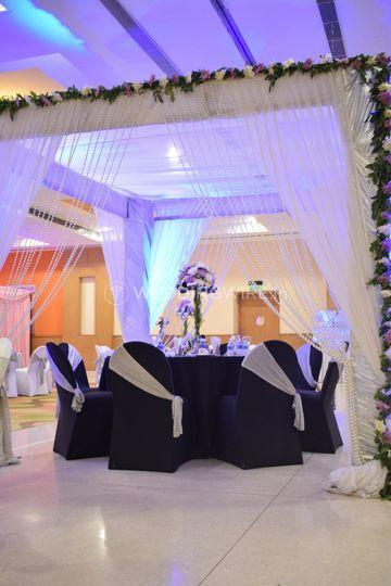 Wedding special setup