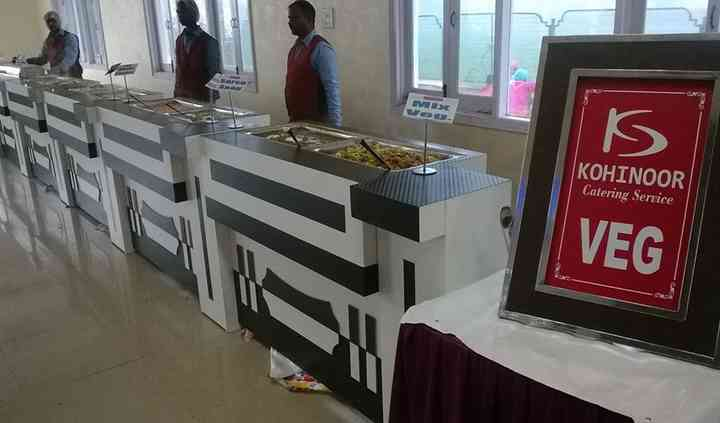 the catering service
