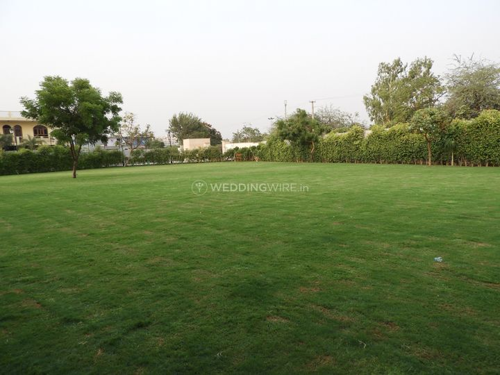 The front lawn