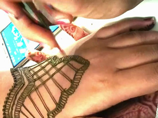 Back Hand Mehandi for Guest