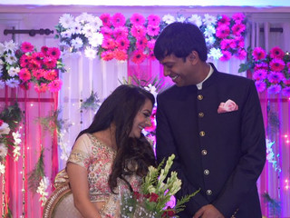 Arushi Ring Ceremony