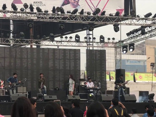 Aawaaz The Band live at Elp Food Festival 2018