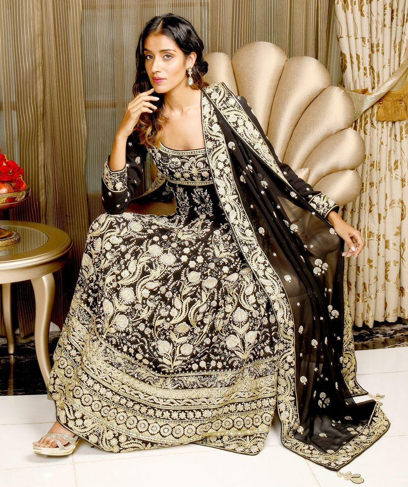 772781a340 How to Wear Heavy Dupatta on Suit for Your Wedding Ceremonies
