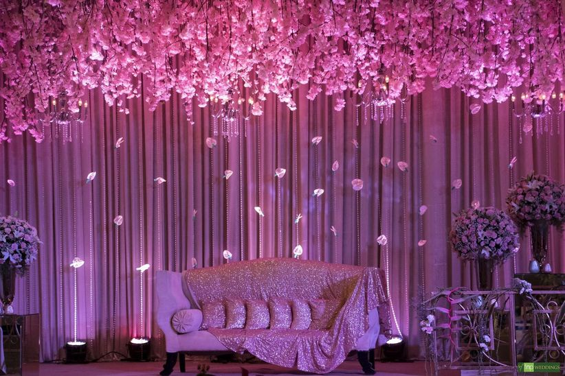 7 Pink Colour Combination Photos For Wedding Decor That Are