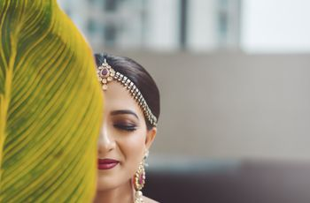 6 Gorgeous Maang Tikka Designs That Can Inspire Your Bridal Look