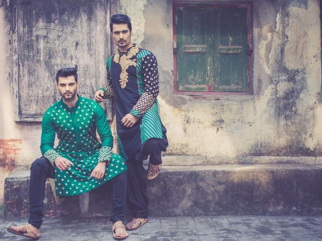6 Punjabi Kurta Styles for Men and Women to Flaunt This Wedding Season