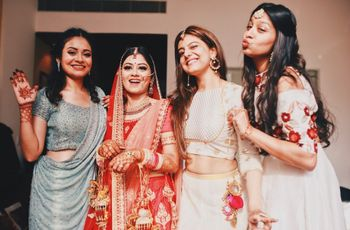 Choosing Indian Wedding Outfits for Sister of the Bride Made Easy