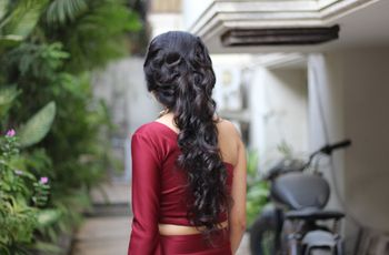 8 Hairstyles for Indian Wedding Reception to Set You Apart from the Crowd