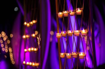 8 Candle Decoration Ideas to Light up Your Wedding Decor