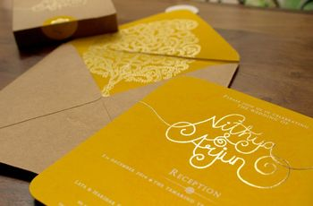 8 Considerations For The Perfect Wedding Card Matter in English