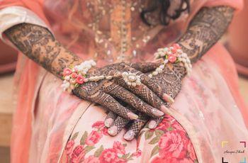 Rajasthani Mehndi Patterns and Styles Raging This Wedding Season