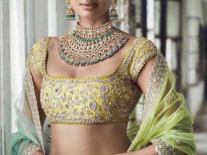 Maggam Work Blouse Designs - Style Them Right This Wedding Season