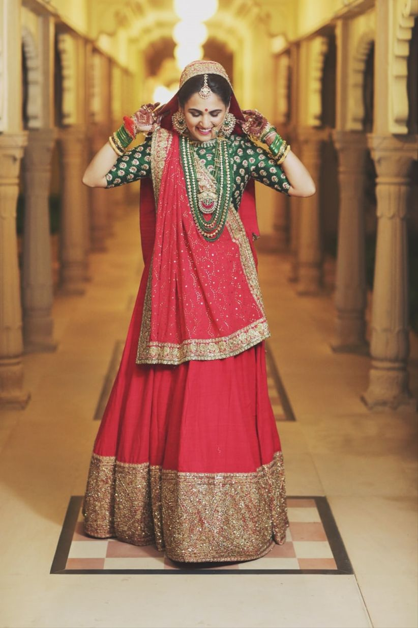 How To Wear Lehenga To Look Slim The Only 4 Things You Need To Know