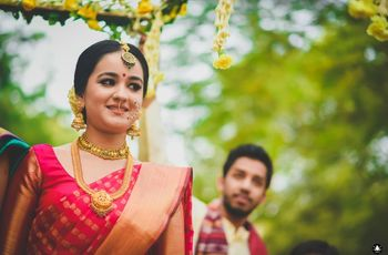 8 South Indian Blouse Pattern Inspirations To Go With Your Bridal Saree