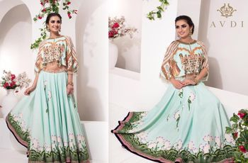 How to Choose the Right Crop Top Lehenga for Your Body Shape