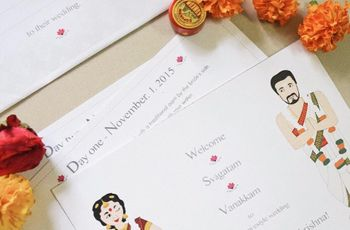Simple South Indian Wedding Invitation Wordings For Friends