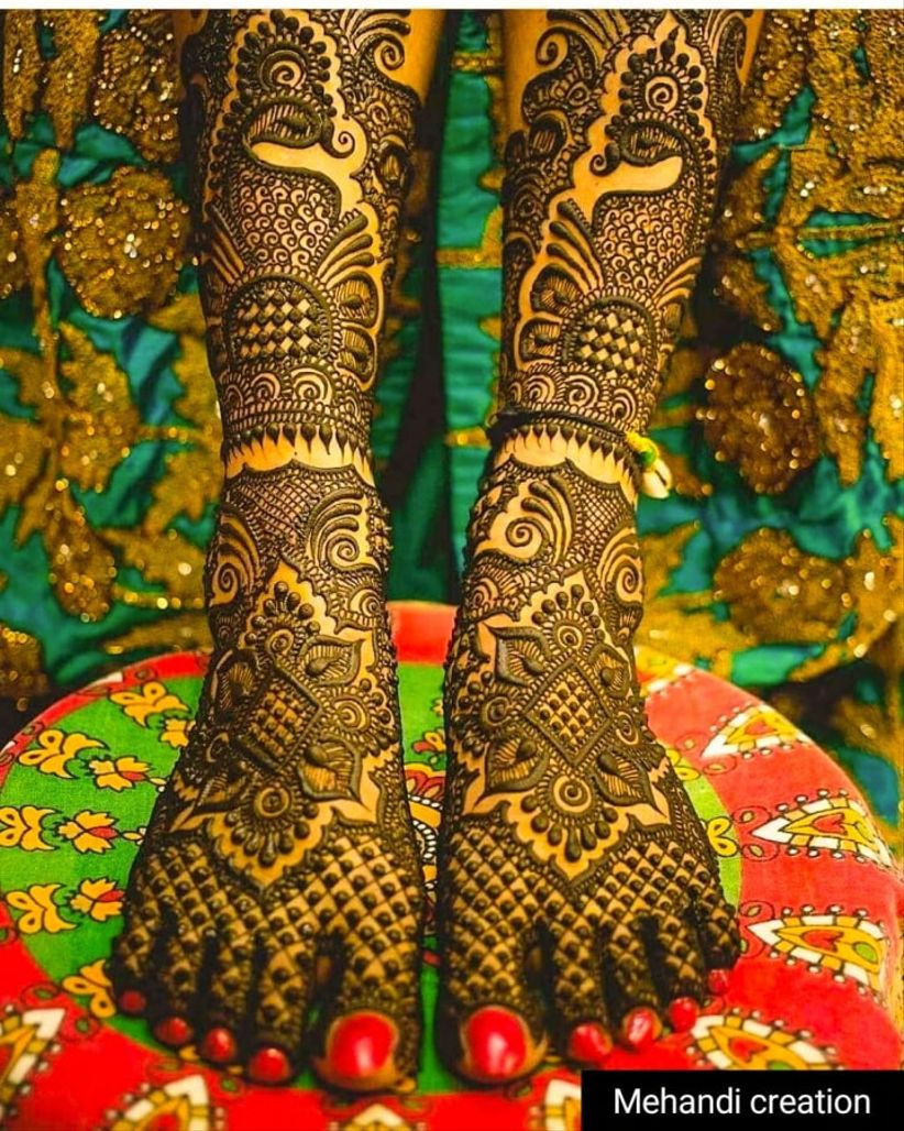 Mehandi Creation by Manu Bishnoi