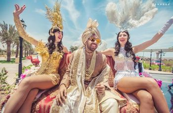 7 Unique, Quirky and Fun Groom Wedding Entry Ideas for Your Swanky Baraat