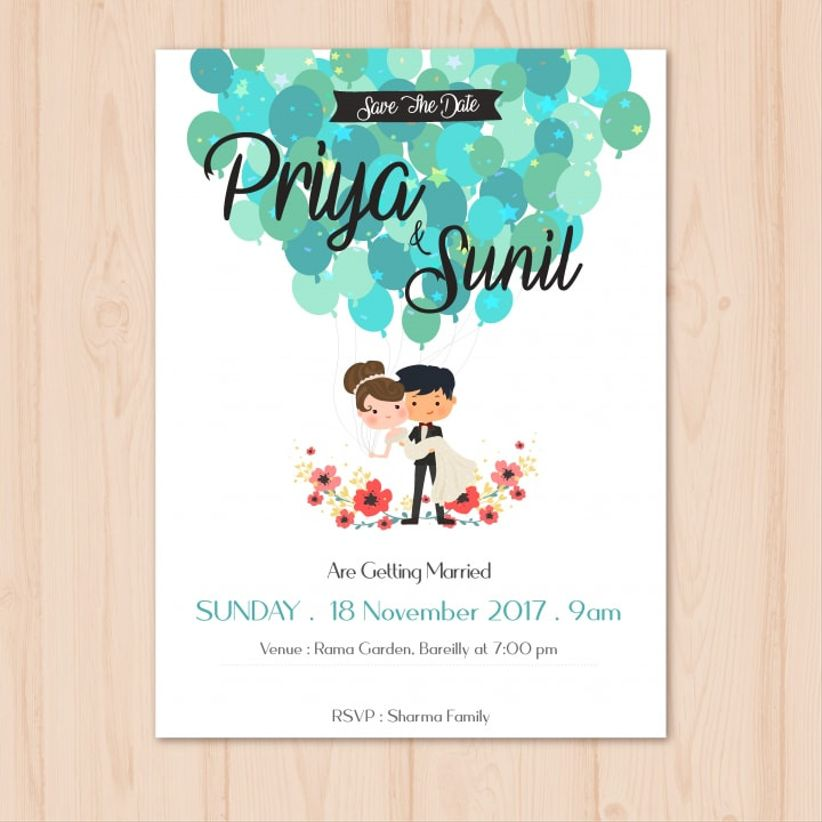 create the perfect whatsapp wedding invitation message