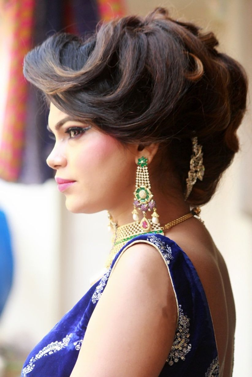 The Only 8 Indian Bridal Hairstyles You Need To See For Long Medium