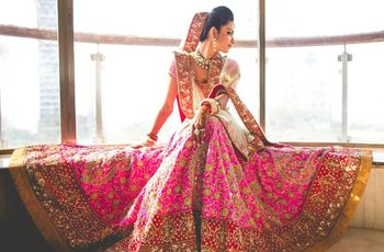 How to Wear a Chaniya Choli for Wedding in 7 Different Styles