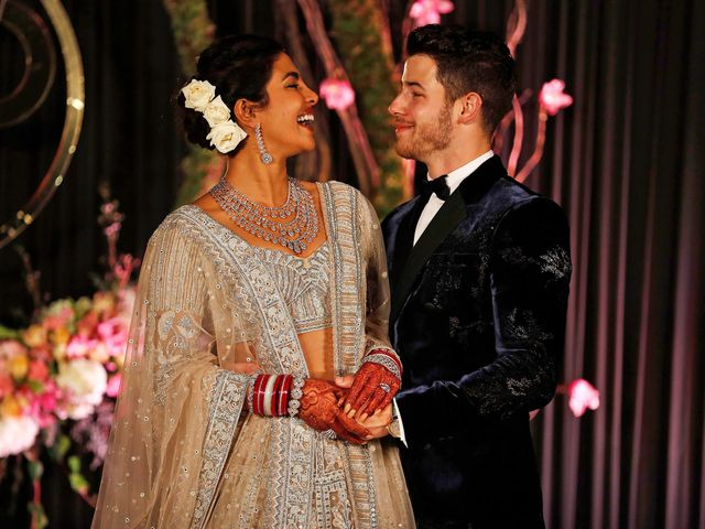 Under-Our-Lens: The Palatial Priyanka Chopra Marriage in Red and White