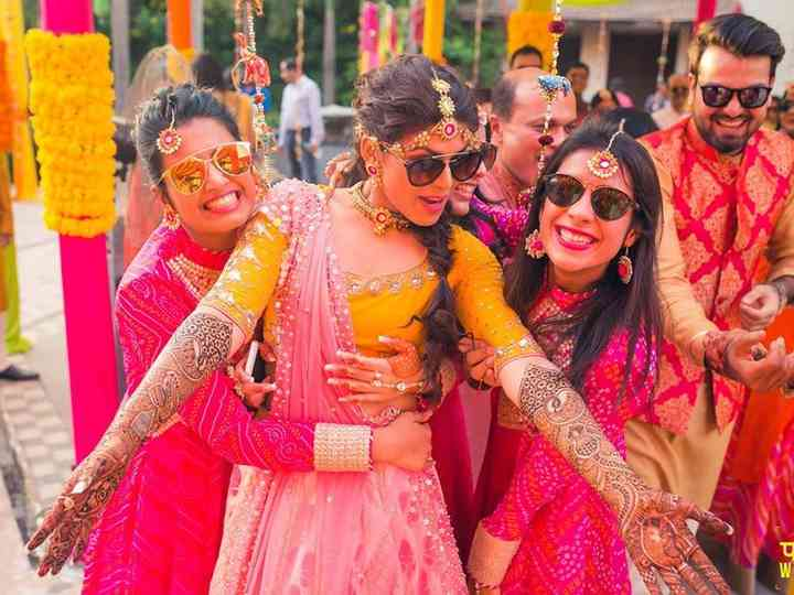 6 Creative Bridal Mehndi Designs for Brides and Bridesmaids