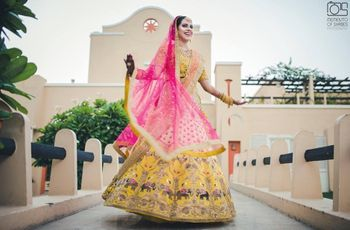 The Latest Bridal Lehengas Will Make Trendy Brides Swoon