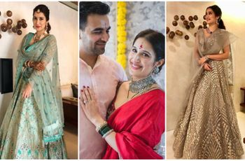 5 Things Brides Can Learn from Sagarika Ghatge's Wedding Outfits
