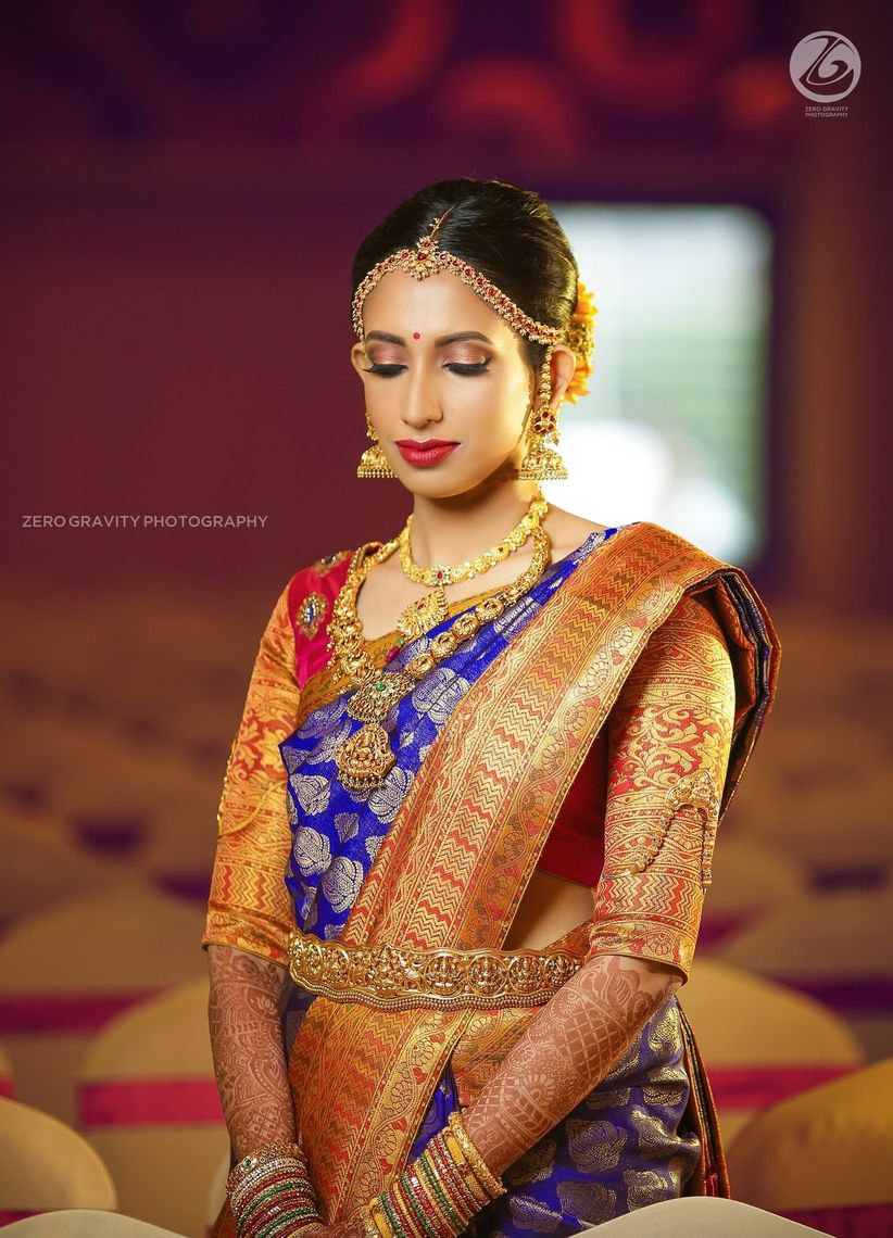 39019363095a03 8 Breathtaking Blouse Work Designs for Pattu Sarees To Get A High ...
