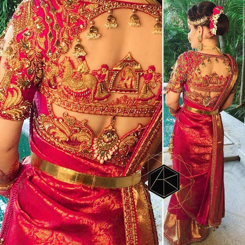South Indian Bridal Blouse Back Neck Designs Photos 50 Latest Silk Saree Blouse Designs Catalogue Discover The Latest Best Selling Shop Women S Shirts High Quality Blouses