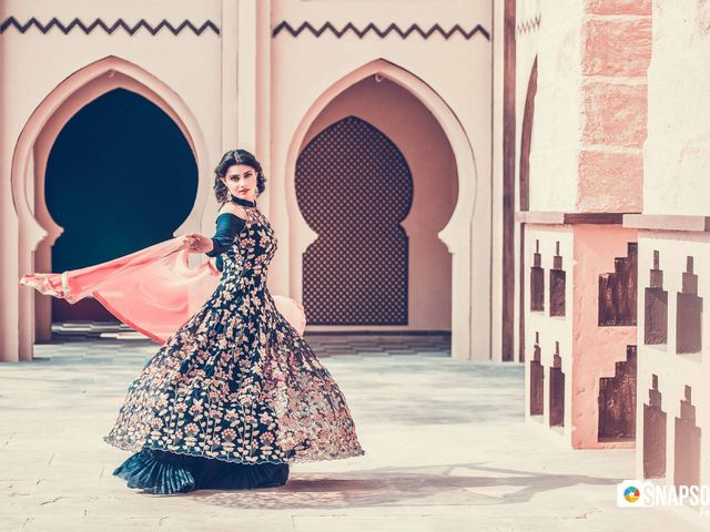 The support behind every Bridal Fairytale - The Cancan Lehenga