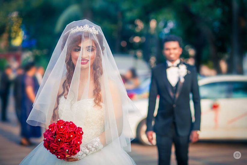 15 Gorgeous Brides Who Rocked Christian Bridal Hairstyles With Veil