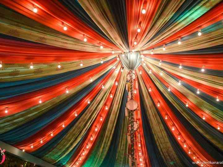 Try These 5 Dupatta Decoration Hacks to Serve Some Wedding Decor Goals