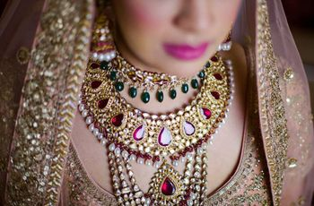 Learn to Rock Different Gold Bridal Necklace Looks for Your Wedding
