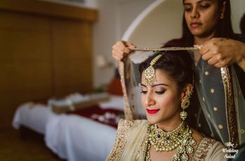 Gold Jhumka Design Photos: Flaunt Them as These Real Brides Did