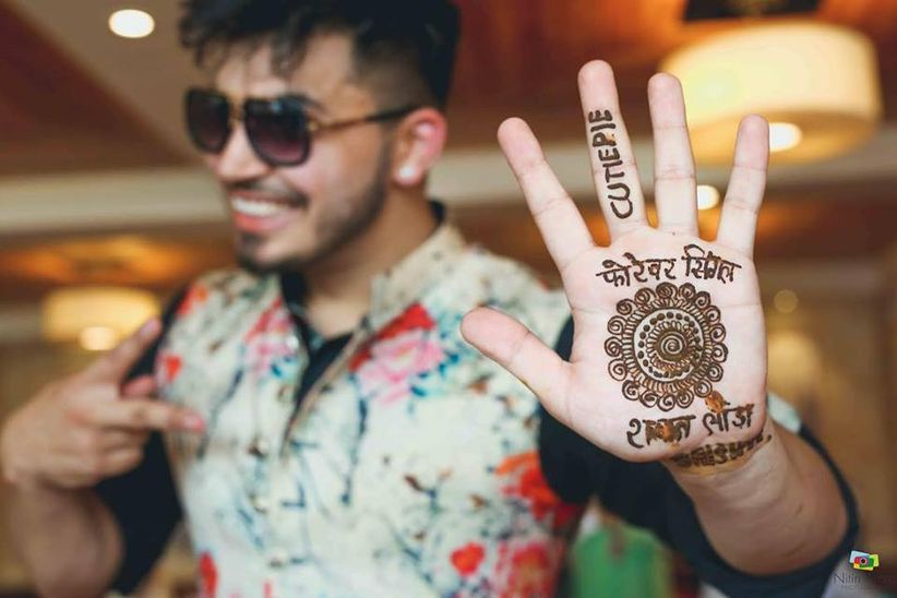 9 Out Of The Box Groom Mehndi Designs For When Tradition Meets Style