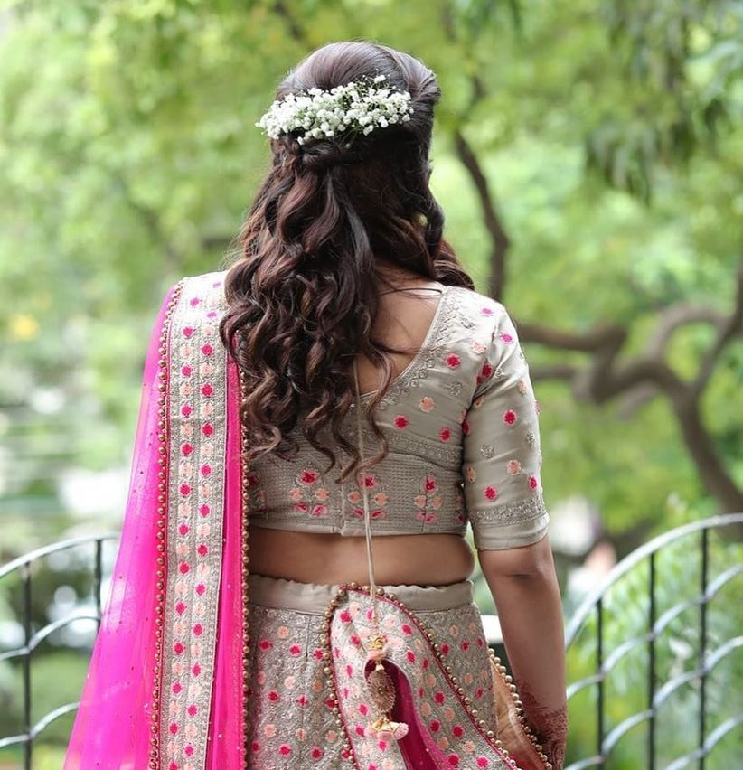 8 Hairstyles For Indian Wedding Reception To Set You Apart