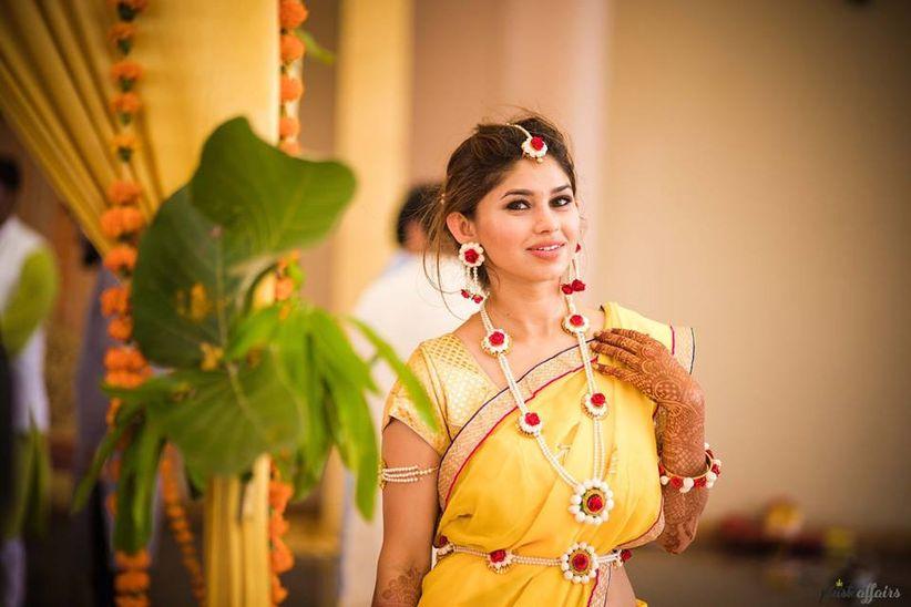 8 Breathtaking Haldi Dresses For Brides And Bridesmaids To