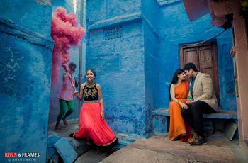 Indian Pre-Wedding Photoshoot Ideas for a Unique Wedding Album