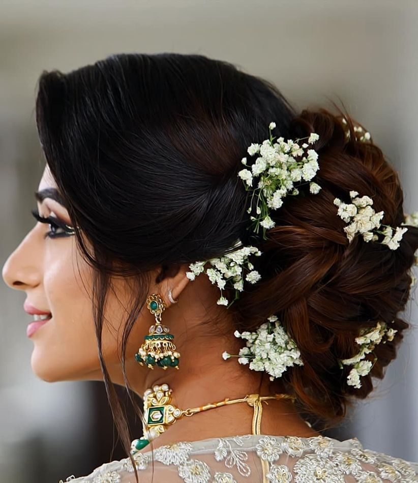 Wedding Hairstyles Indian: 6 Revamped Indian Wedding Hairstyles For The Desi Girl